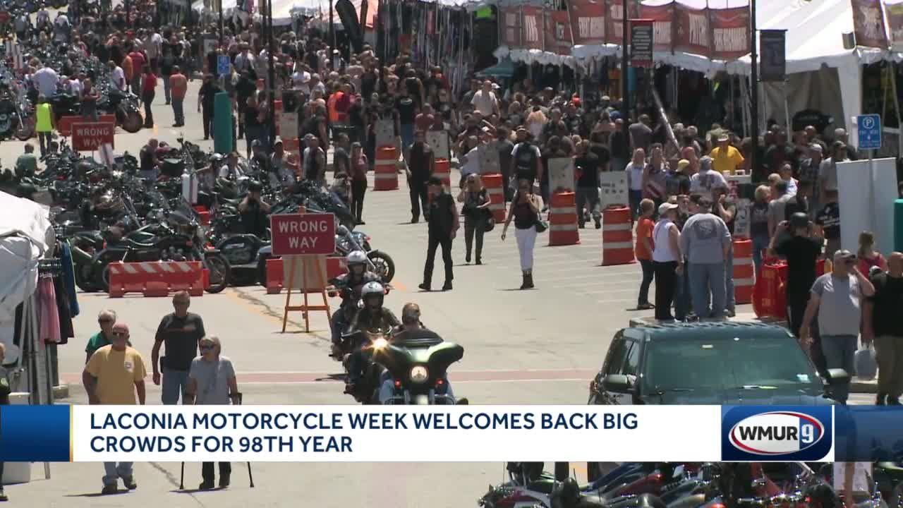 Laconia Motorcycle Week welcomes back big crowds