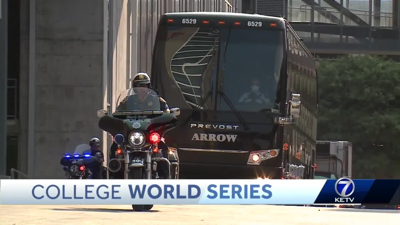 CWS athletes arrive in Omaha with thoughts of national title