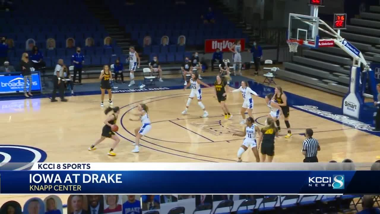 Clark scores 30 as Iowa outdoes Drake, 103-97