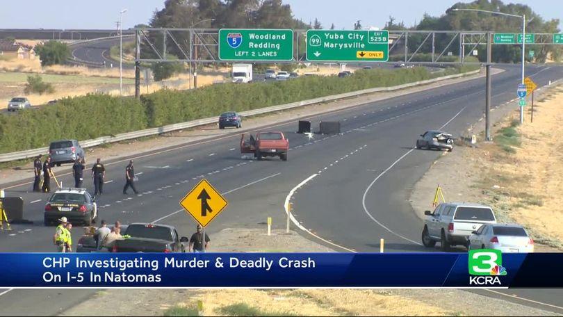 Sacramento man was 1 of 2 killed in I-5 fight, crash