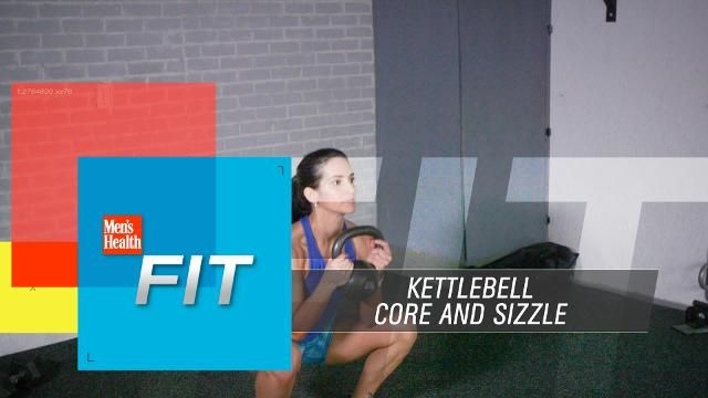 Fry Fat With This 5-Move Kettlebell Workout