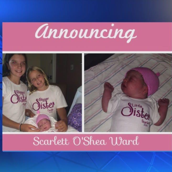 NewsCenter 5's Kelley Tuthill welcomes baby girl