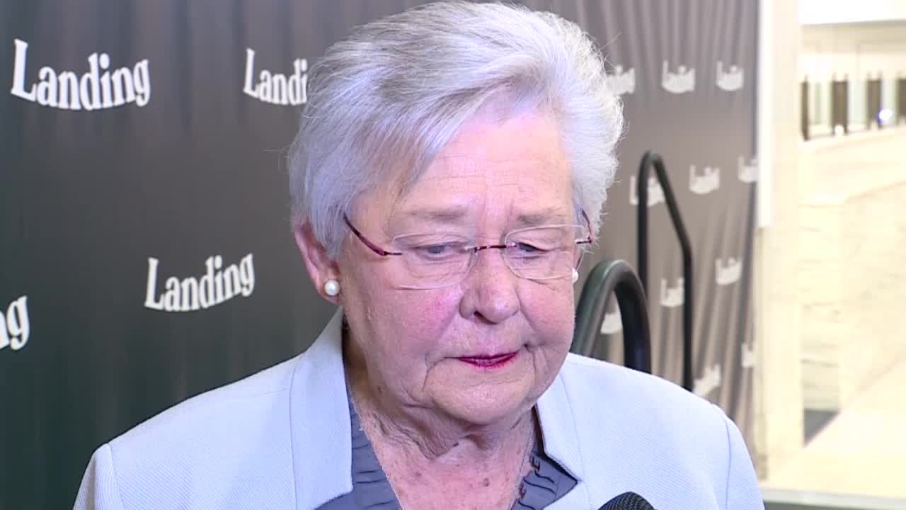 """'I've done all I know how to do"""": Alabama Gov. Kay Ivey frustrated with low vaccination rate"""