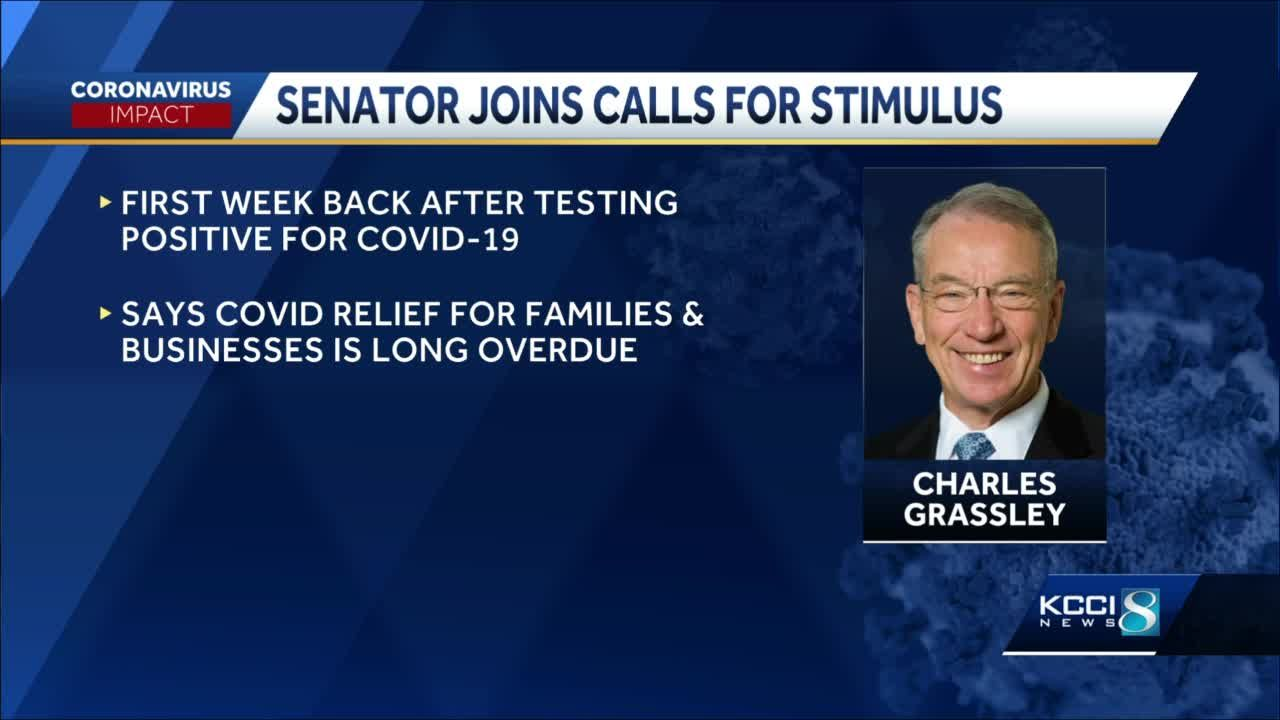 Grassley pushes for bipartisan coronavirus aid package