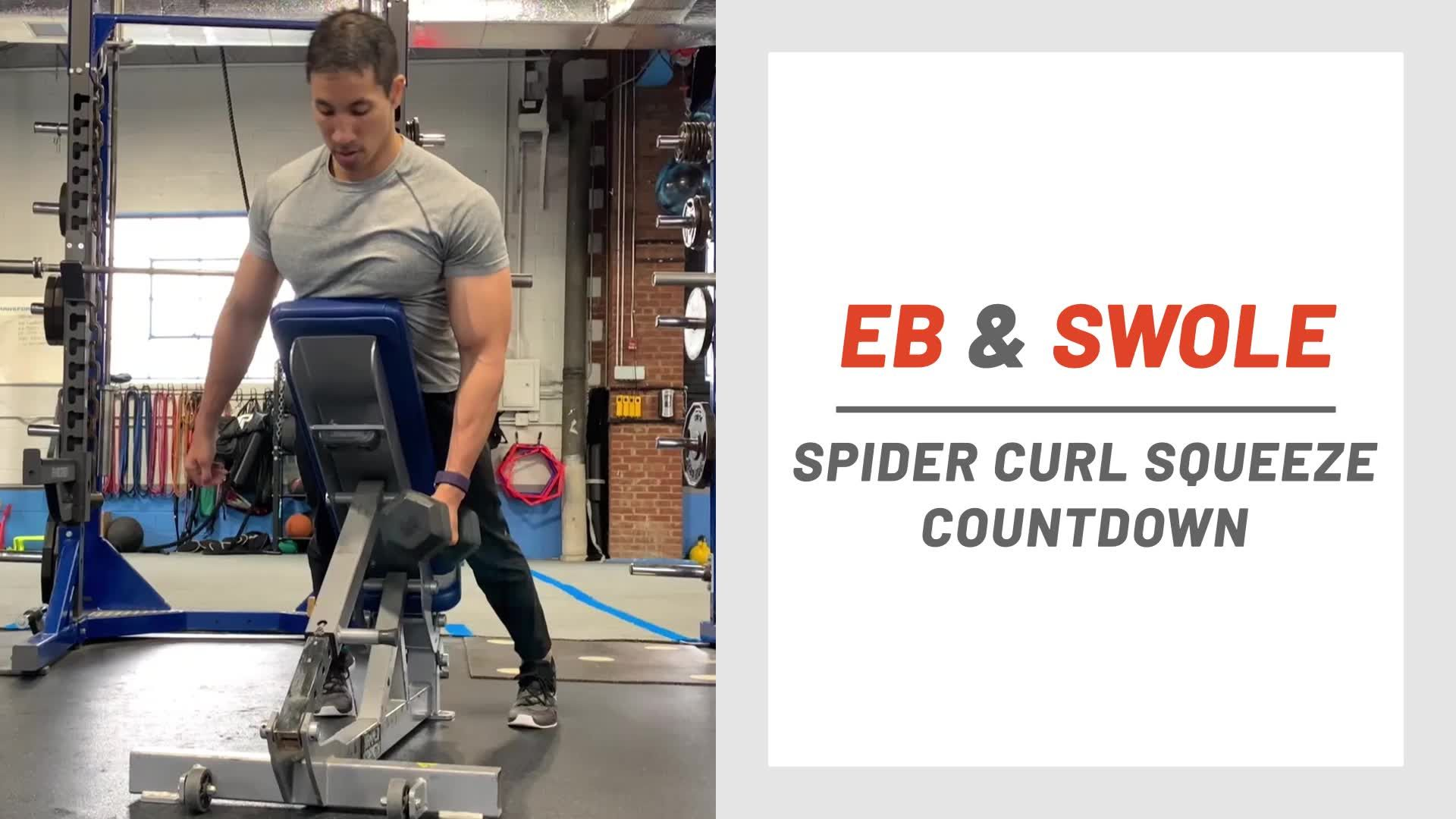 Use This Countdown Series to Build Your Biceps