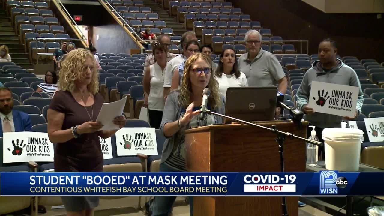 Parents across Wisconsin oppose mask mandates in schools