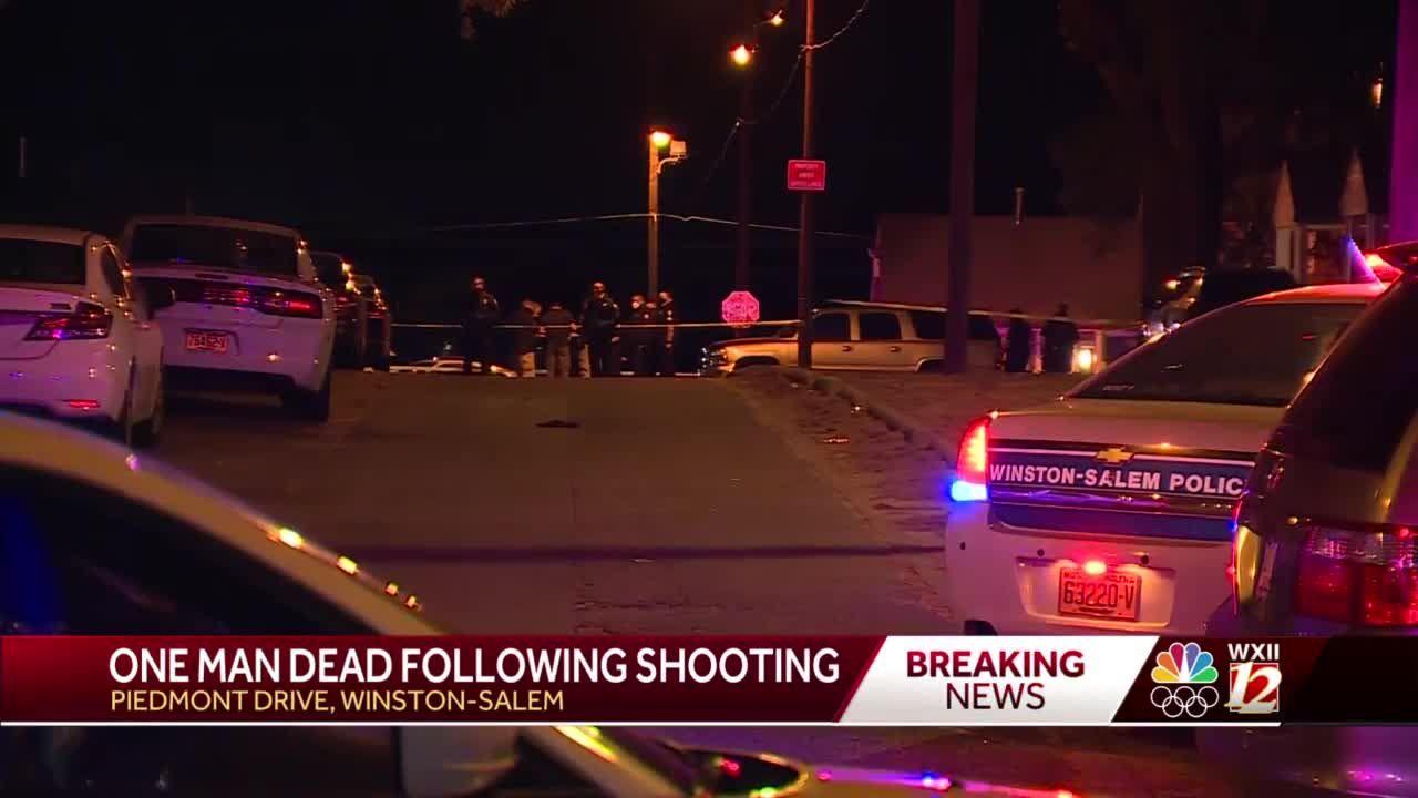 One man killed on Piedmont Circle in Winston-Salem