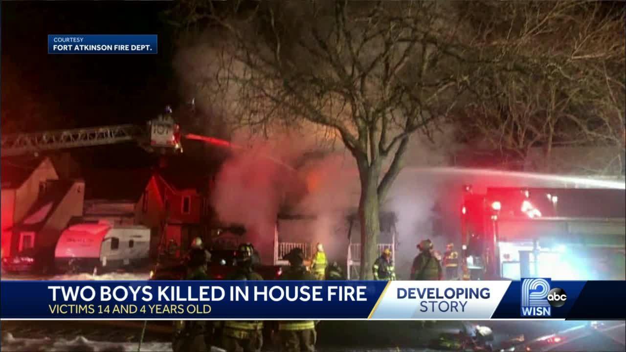 2 boys killed in fire
