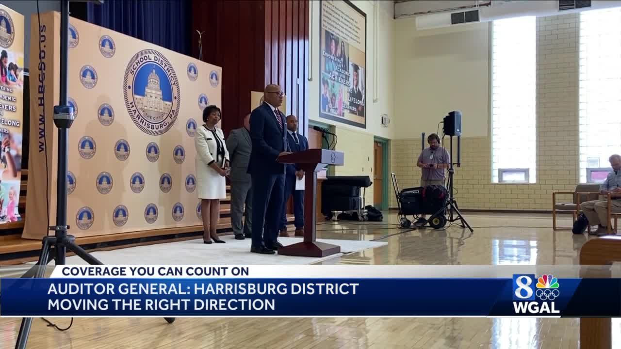 Pa. auditor general completes audit of Harrisburg School District