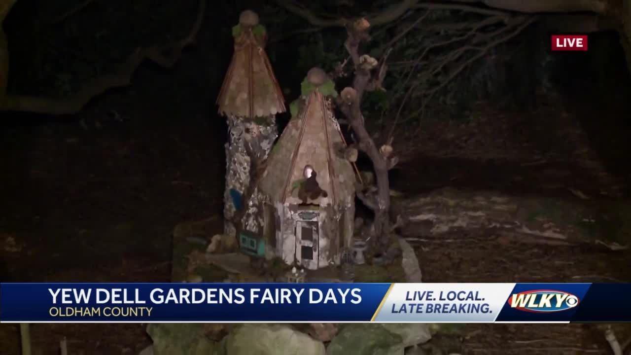 Yew Dell Botanical Garden Fairy Days underway