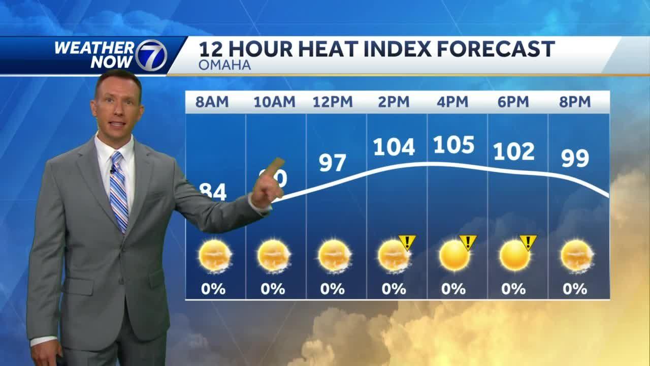 IMPACT WEATHER: Dangerous heat, record highs Thursday
