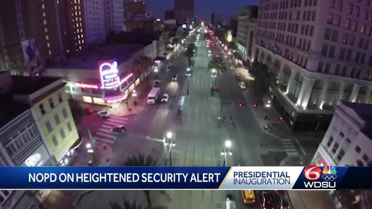 NOPD prepared to respond to protests ahead of Inauguration