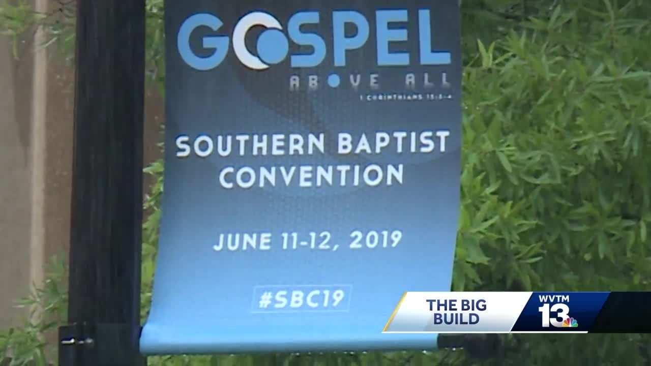 Birmingham prepares to host the Southern Baptist Convention