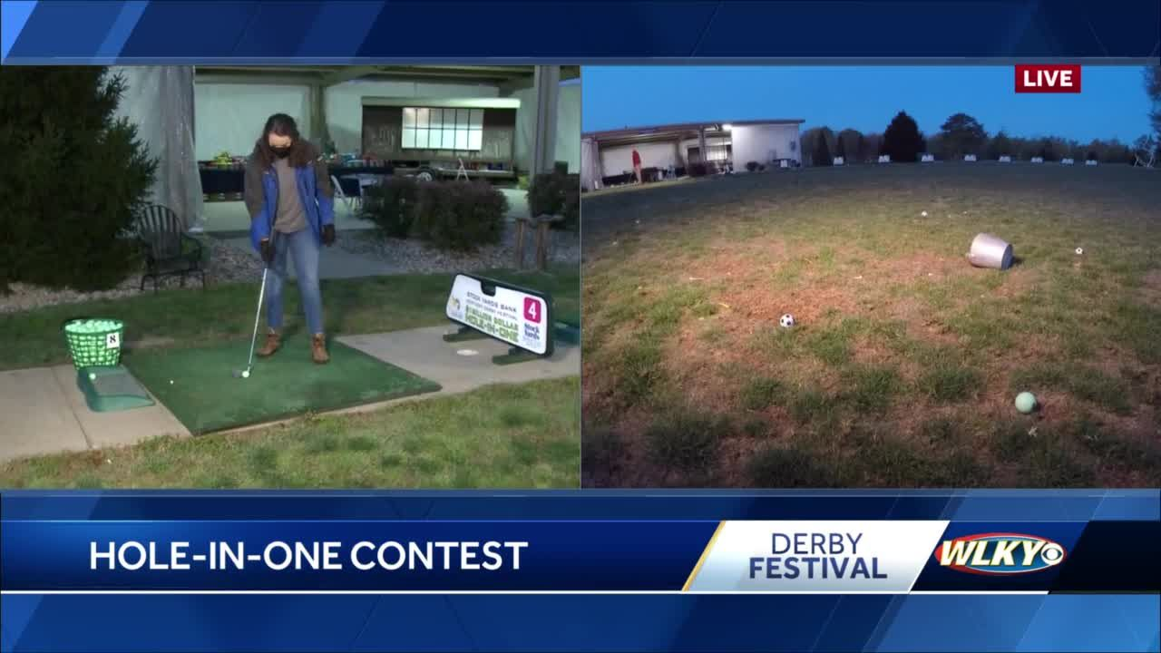 Take a swing at $1 million in the Hole in One contest
