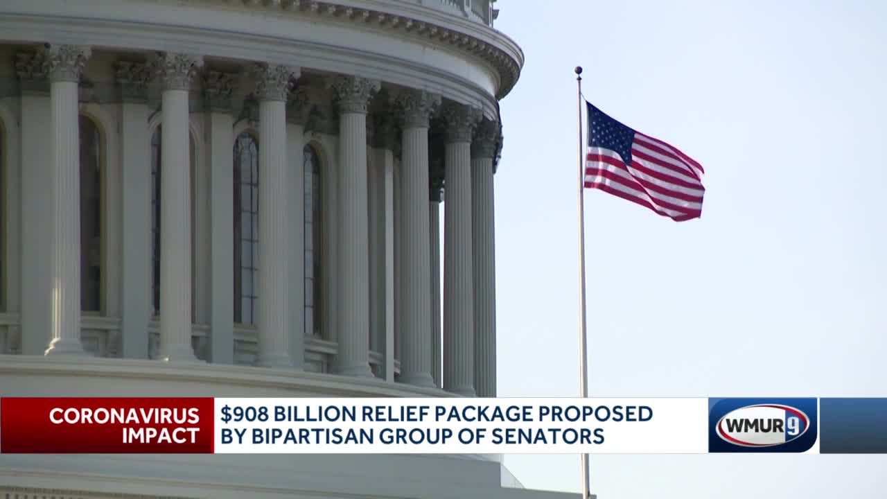 $908B relief package proposed by bipartisan group of Senators