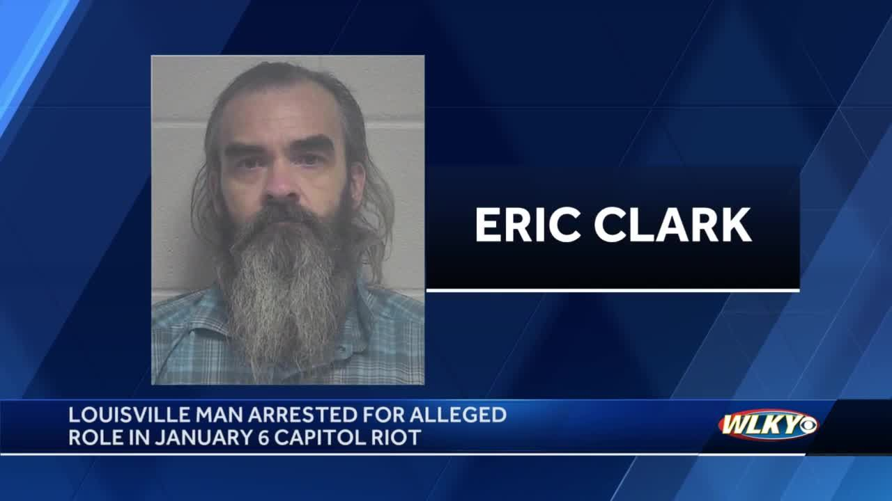 Louisville man arrested, charged in connection with Jan. 6 riot at US Capitol