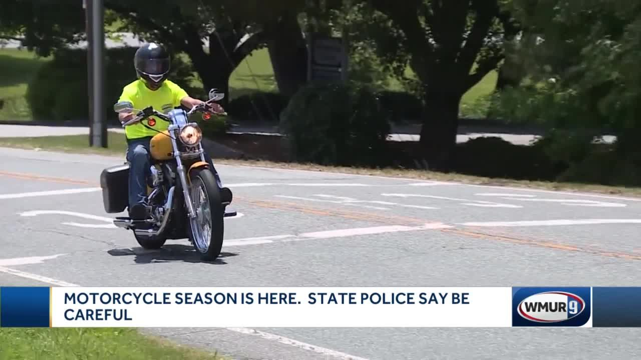 Motorcycle season is here. State police say be careful