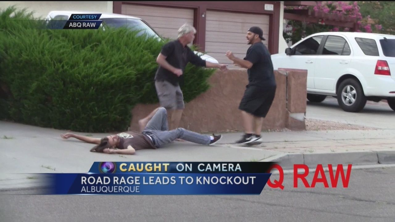 Road Rage Leads To Knockout