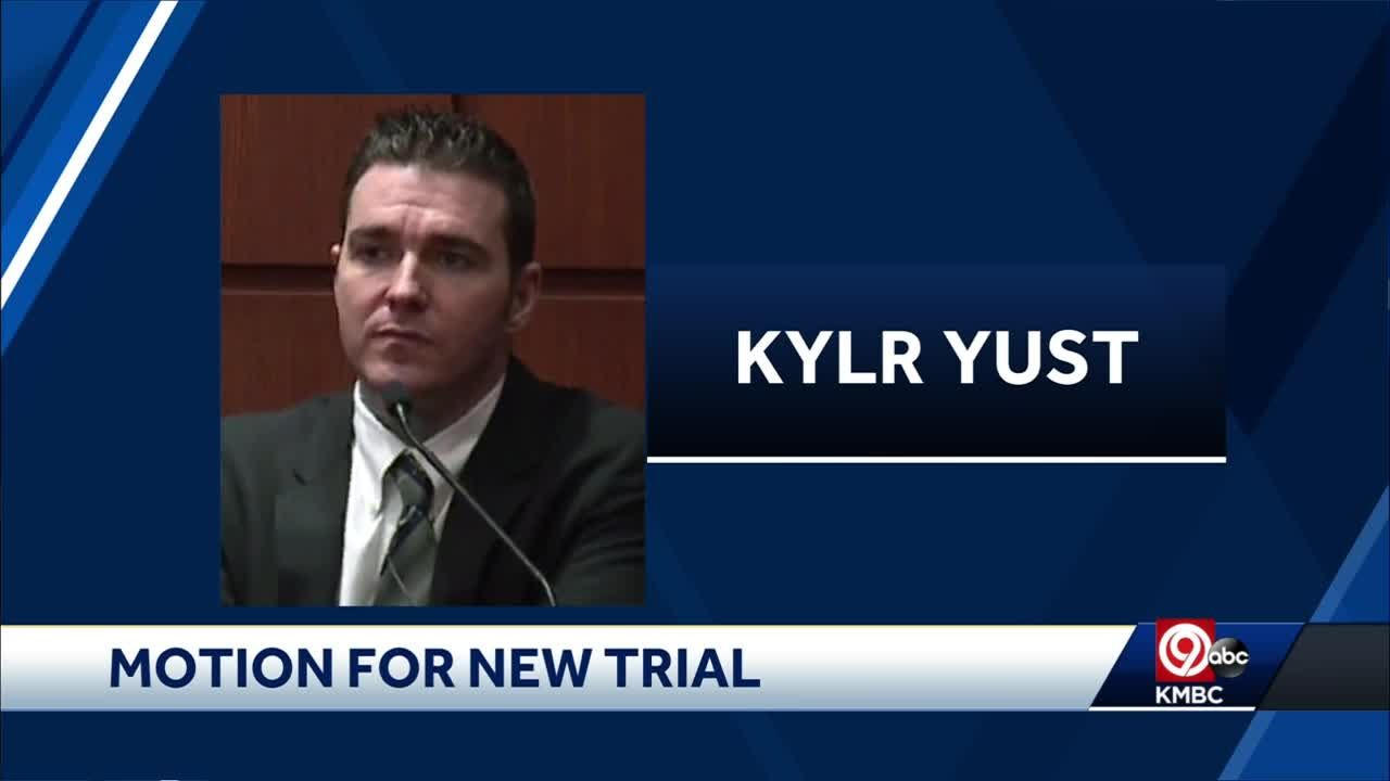 Attorneys for Kylr Yust file motion for new trial