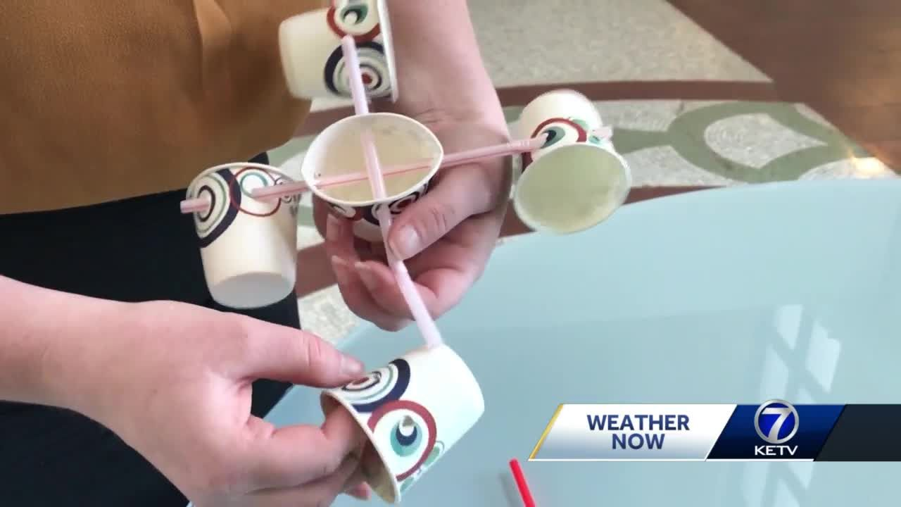 Nebraska SciFest: Make your own anemometer at home