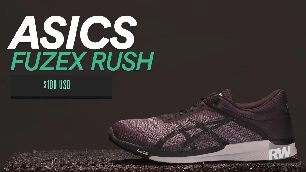 asics fuzex rush review runner's world