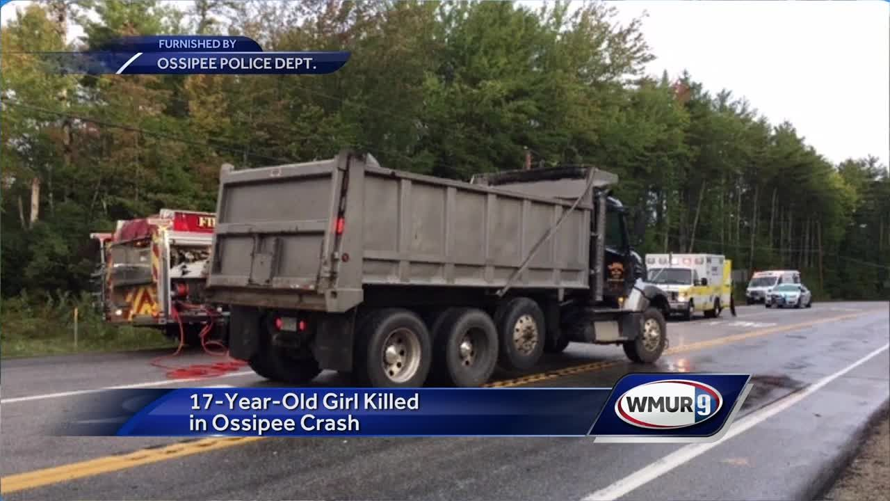 17-year-old girl killed in Ossipee crash
