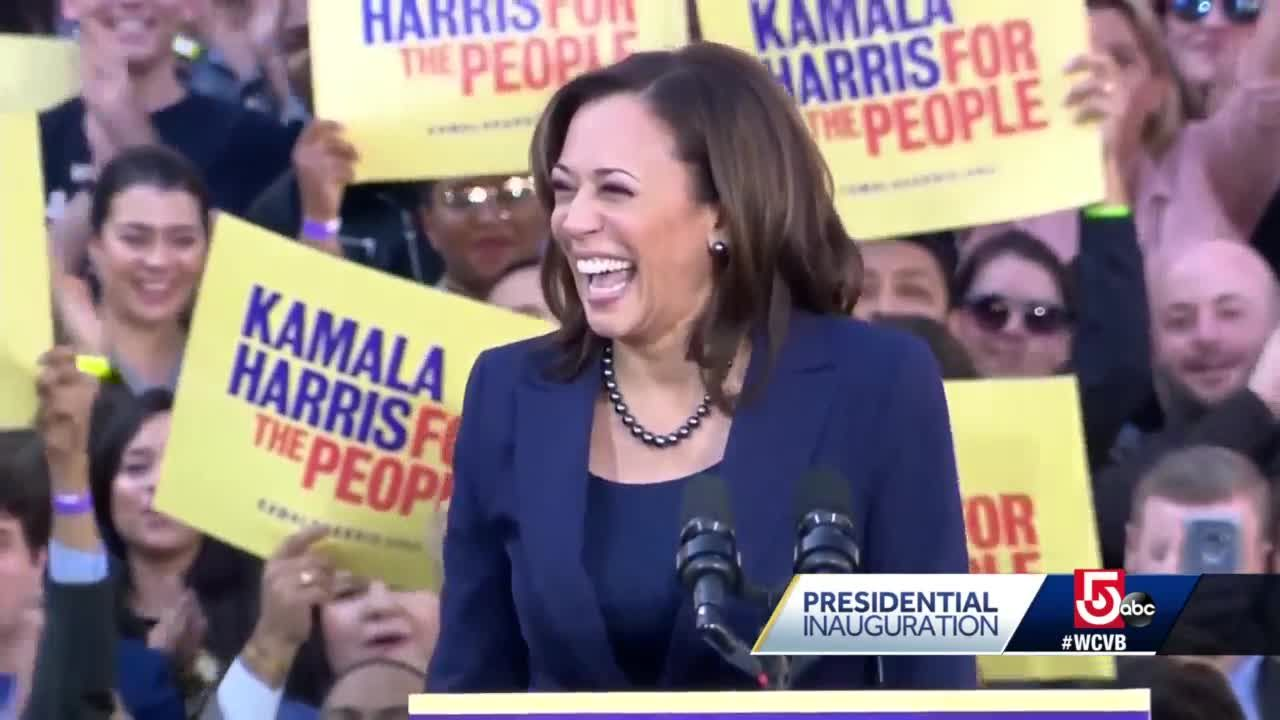 Harris makes history as first vice president of color