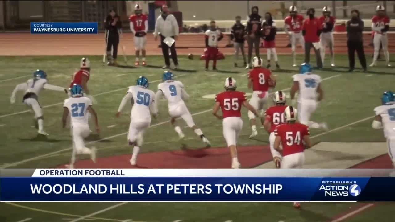 Peters Township beats Woodland Hills