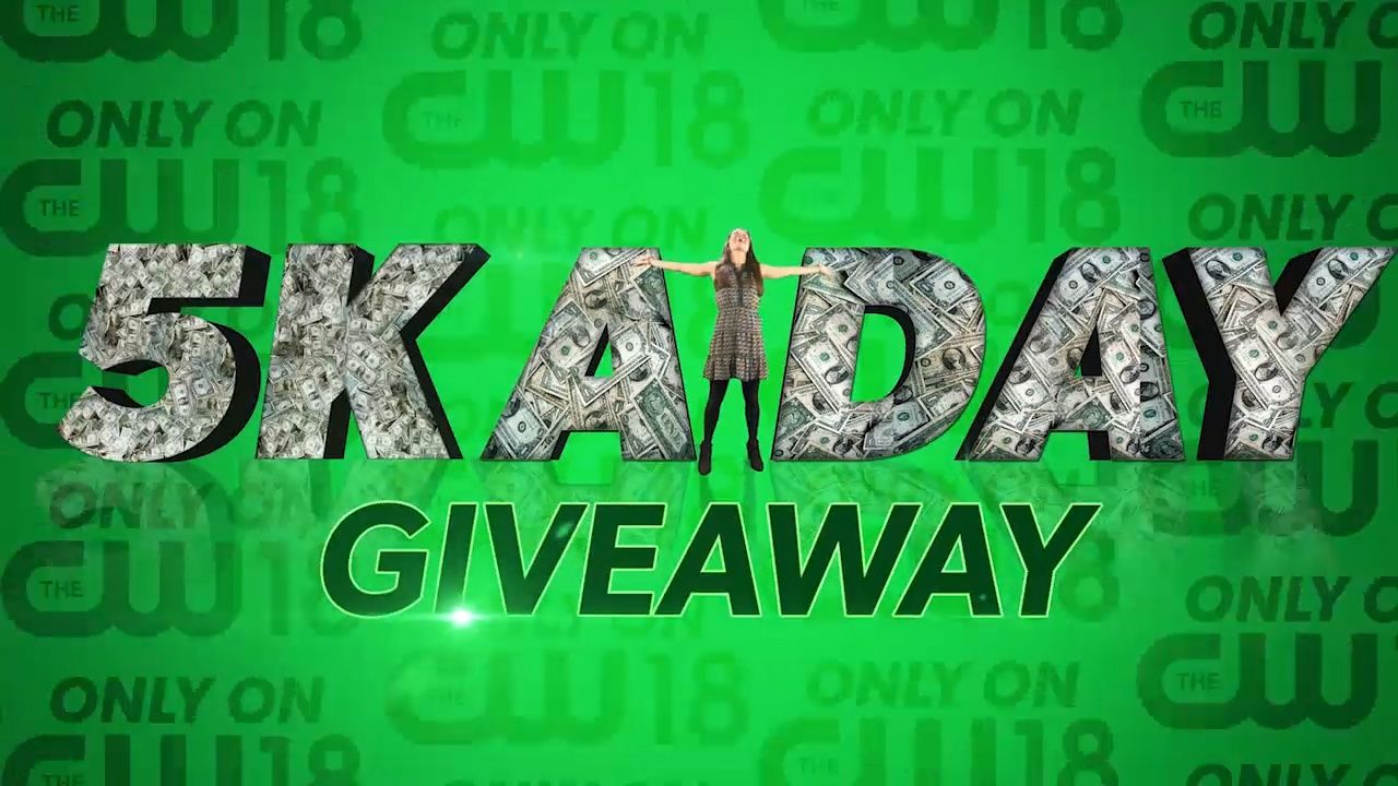 Cw18 5k a day giveaways