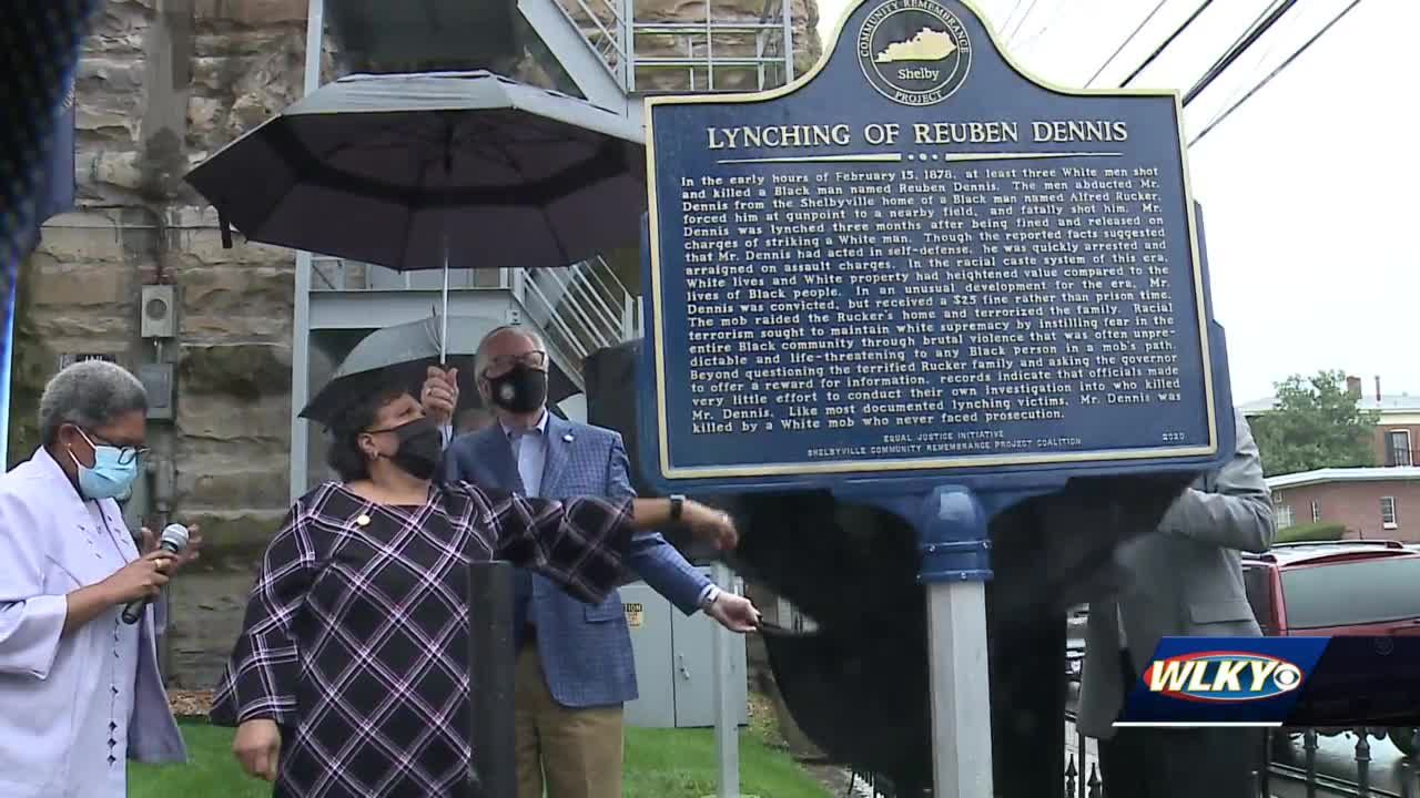 Shelby County becomes first in Kentucky to memorialize history of racial lynchings