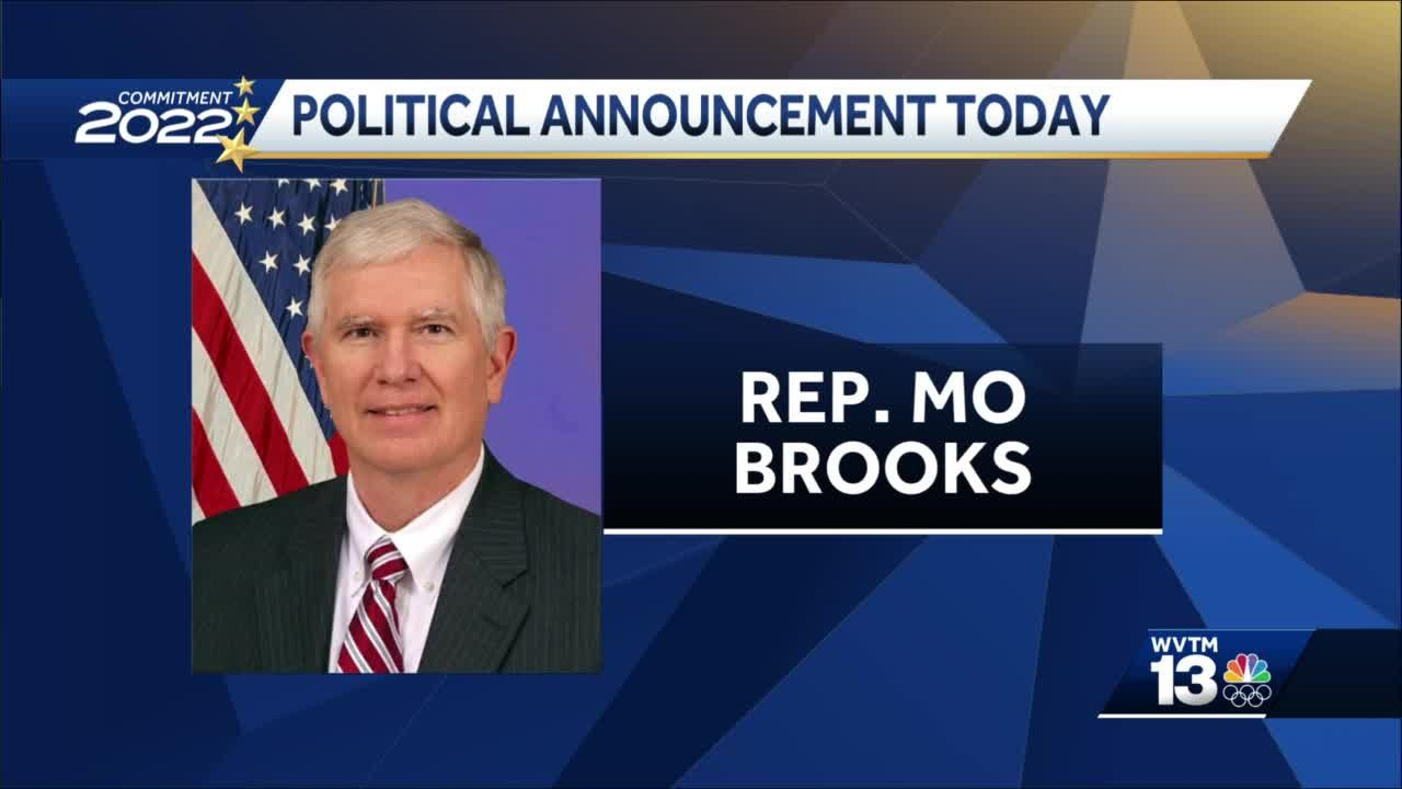 Alabama Rep. Mo Brooks to make announcement at campaign rally