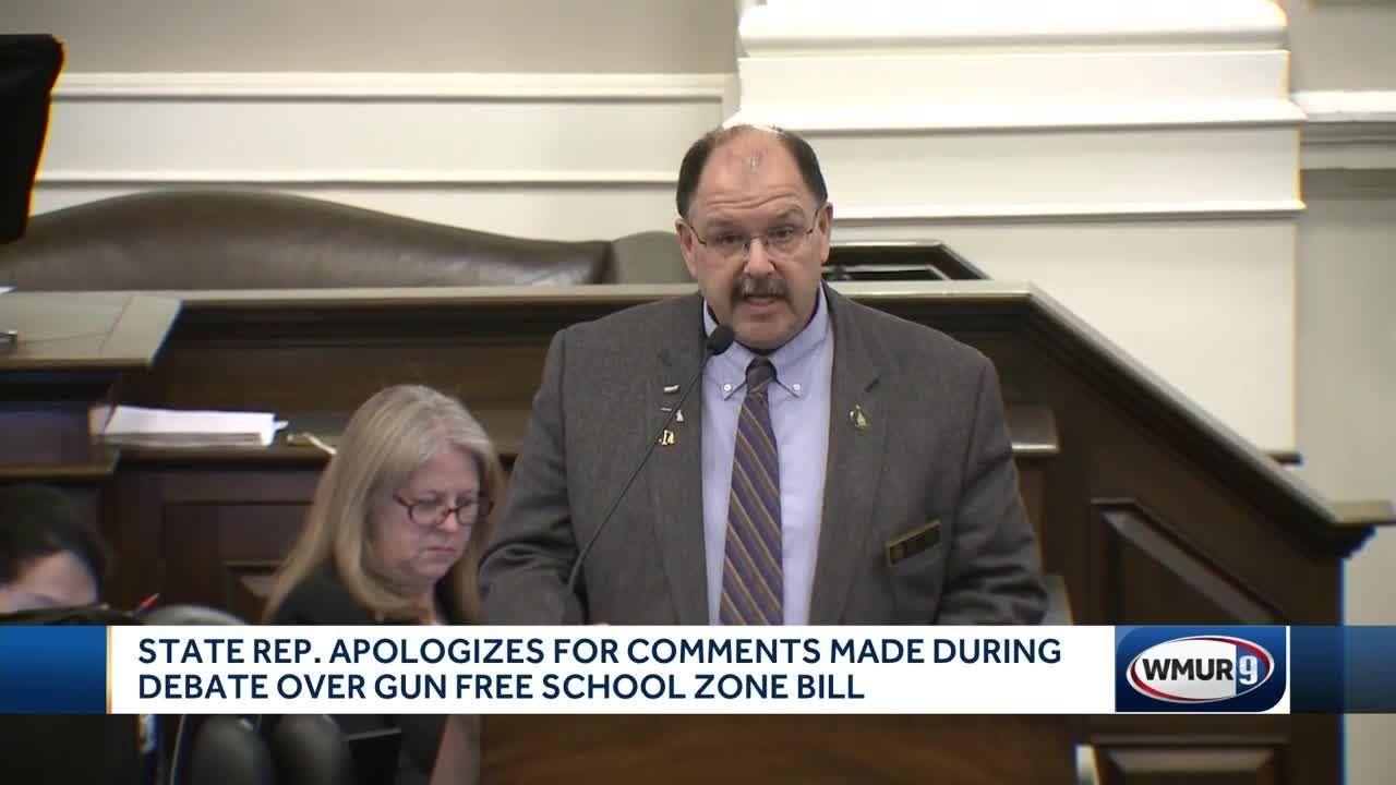 Gun-free school bill debate marked by controversial remarks