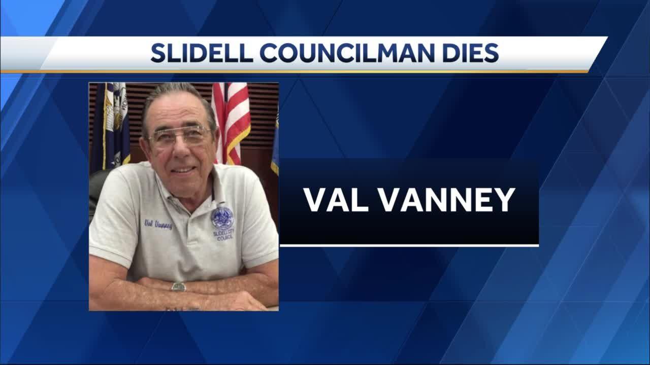 Slidell city councilman 'Uncle' Val Vanney dies