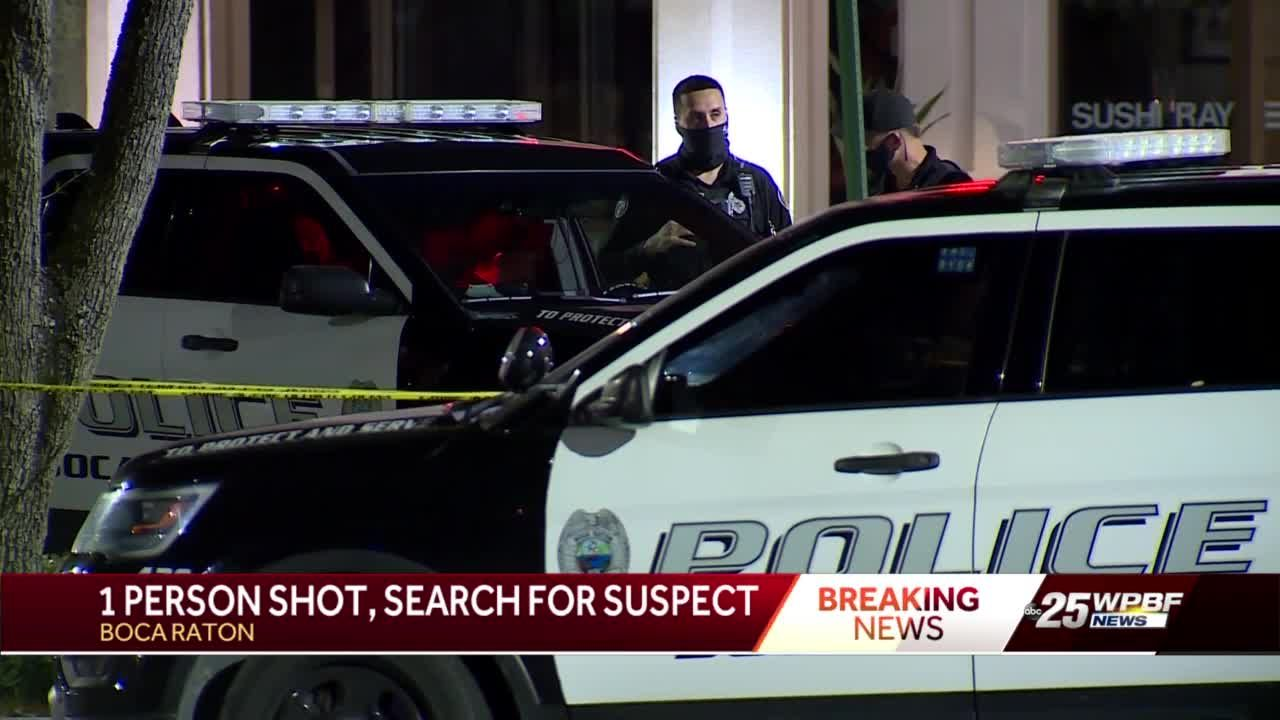 Man shot in Boca Center Mall parking lot