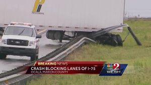 Crash on I-75 in Ocala prompts road closures, officials say