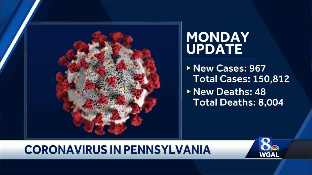 Coronavirus in Pennsylvania: 150,812 cases and 8,004 deaths