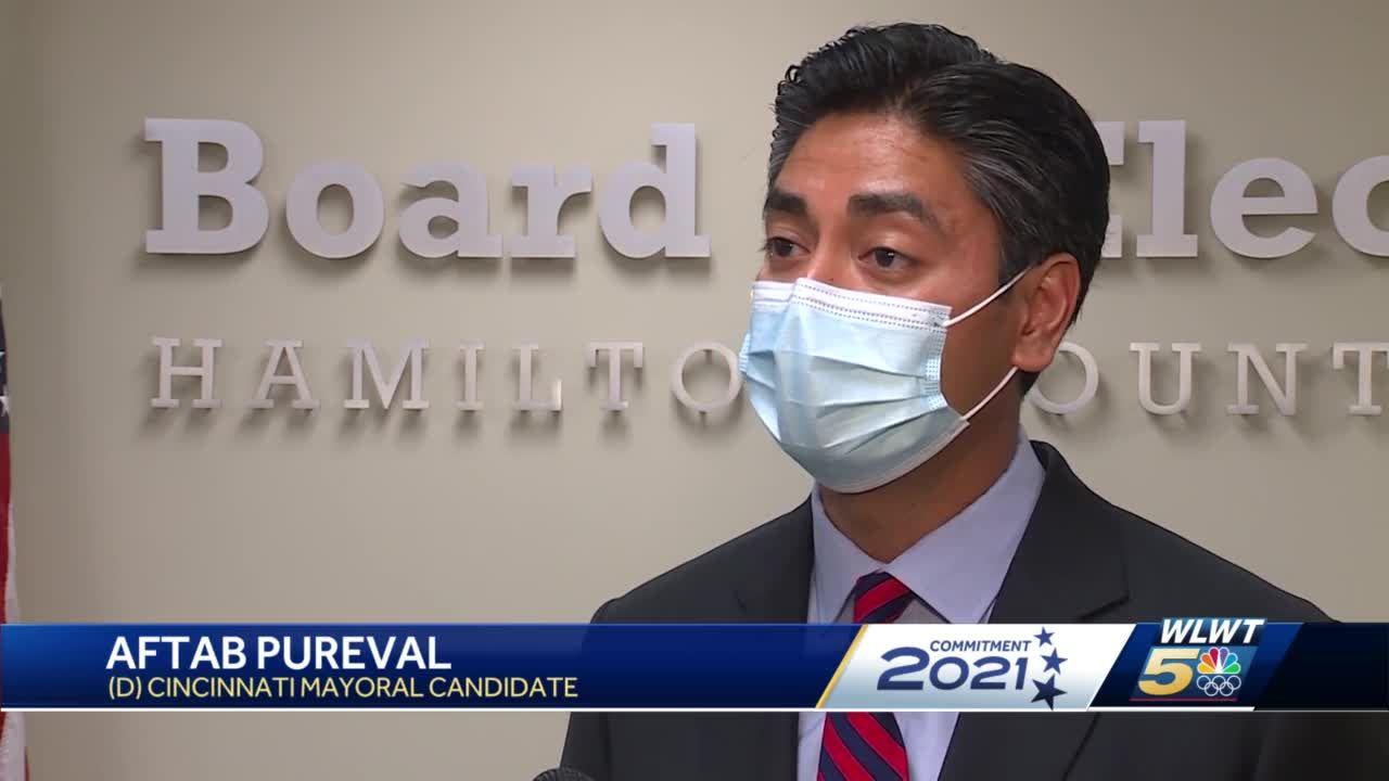 Cincinnati mayoral race: Aftab Pureval, David Mann to face off in November