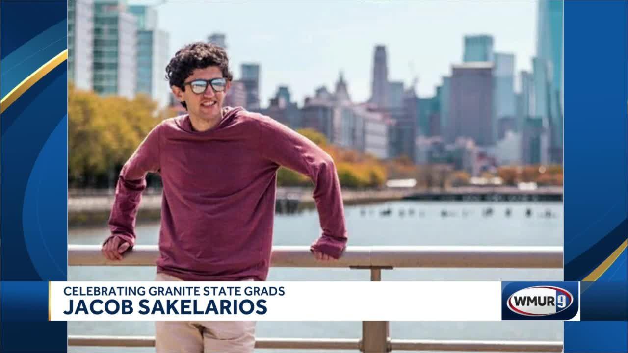 Celebrating Granite State Grads: Jacob Sakelarios