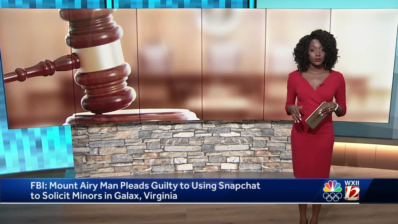 Mount Airy man pleads guilty to soliciting minors using Snapchat