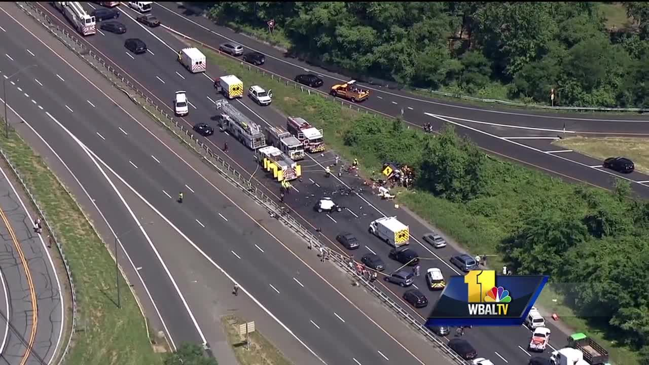 Video: Woman, man killed, child injured in Route 50 crash