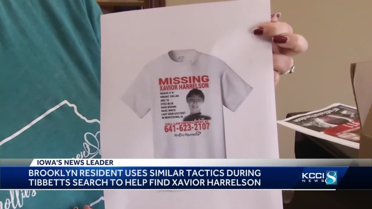 Brooklyn business makes posters for missing Montezuma child