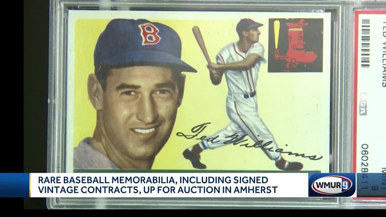 Rare Baseball Cards Contracts Up For Auction