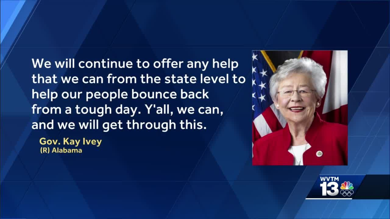 Alabama governor declares state of emergency in 8 counties impacted by TS Claudette