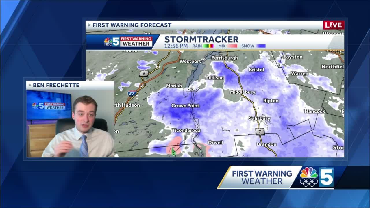 Video: Snow squalls possible this afternoon (1-22-21)