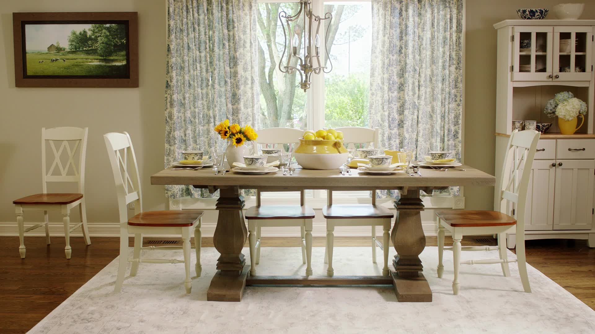How to Create the Ultimate Farmhouse Dining Room, Whatever Your Style