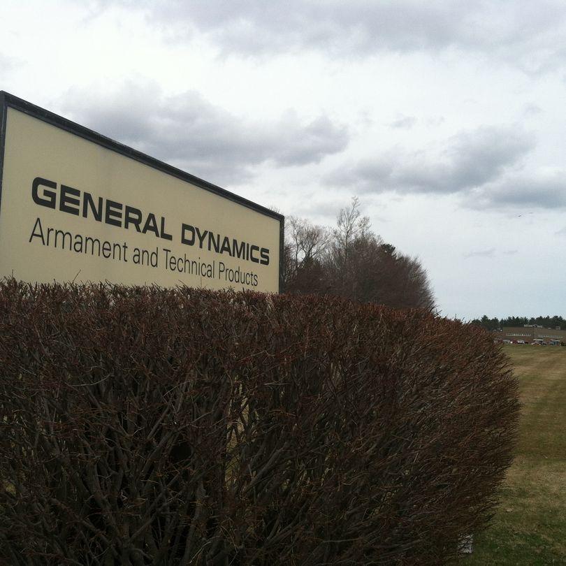 General Dynamics to lay off 110 at Saco plant