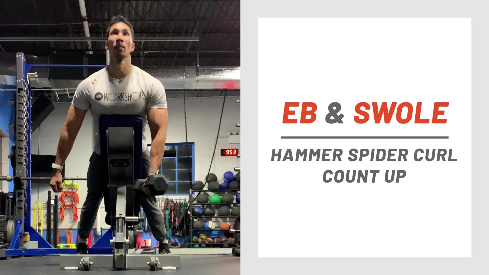 Hammer Out Bigger Biceps With This Devastating 'Count Up' Series