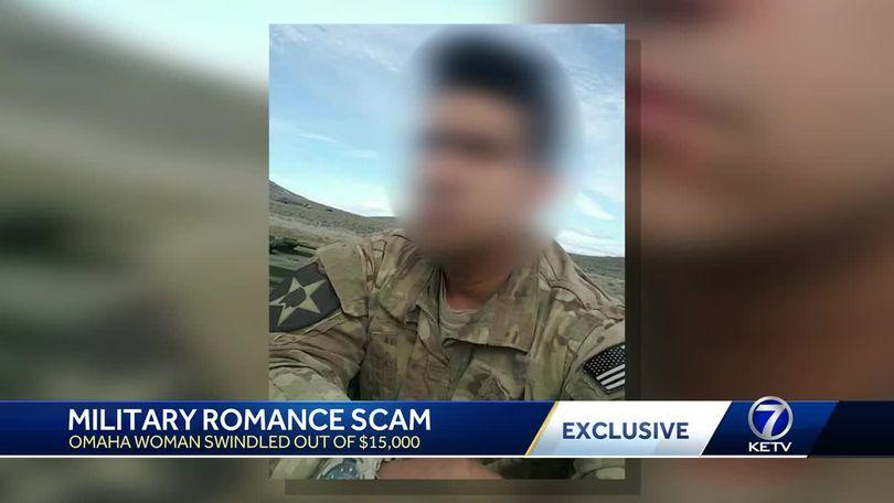scam military romance