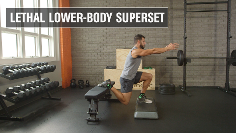 The 100-Rep Lethal Leg Workout