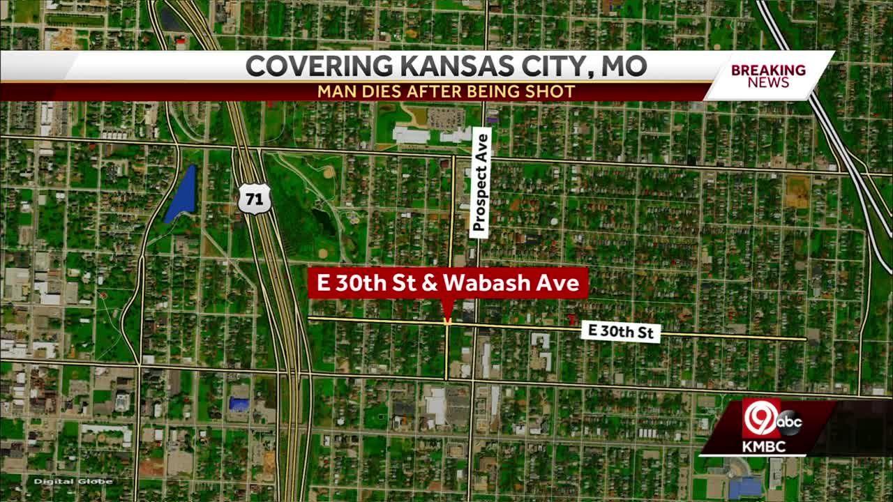 Kansas City police investigate man's fatal shooting near 30th, Wabash